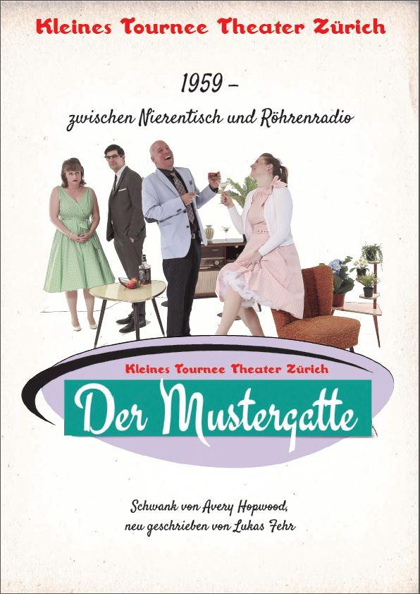 "Erlebnis-Dinner: Sonntag, 29. November 2015 / 17.30h ""der Mustergatte"""