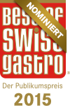 Best of SWISS Gastro-Award: Wir sind nominiert!