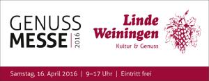 2. Linde-Genuss-Messe: Samstag, 16. April 2016 / 9-17 Uhr (Eintritt frei), gratis Kinderbetreuung