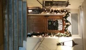 Eingangstüre Weihnachten
