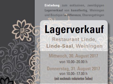 La Differenza / Kunstfertig: 30. und 31. August 2017