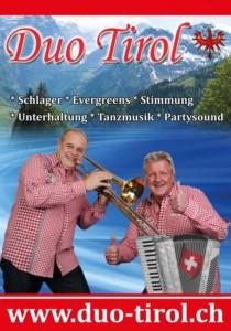 """Schlager, Wurst & Bier: mit dem """"Duo Tirol"""" - Samstag, 28. September 2019, 19.00 Uhr"""