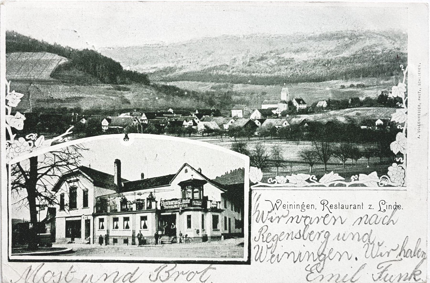 Ansichtskarte aus dem 1904