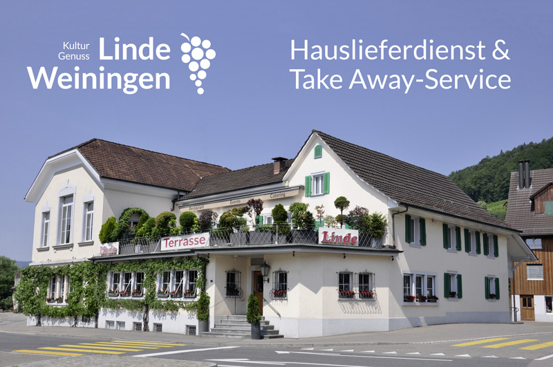 Unser Take Away-Service bleibt OFFEN!